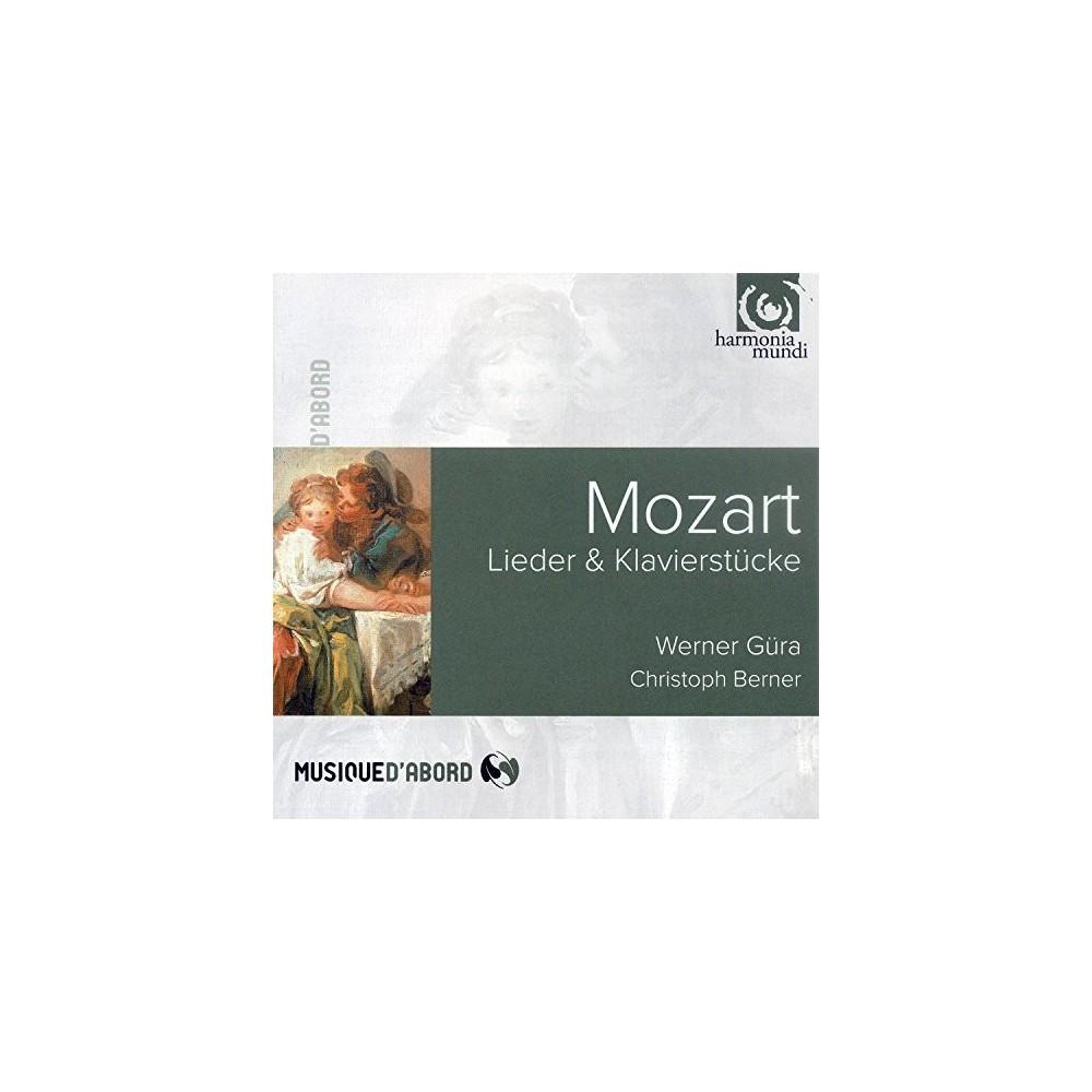 Wener Gura - Mozart:Lieder (CD)