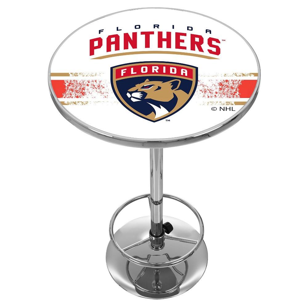 NHL Florida Panthers Chrome Pub Table