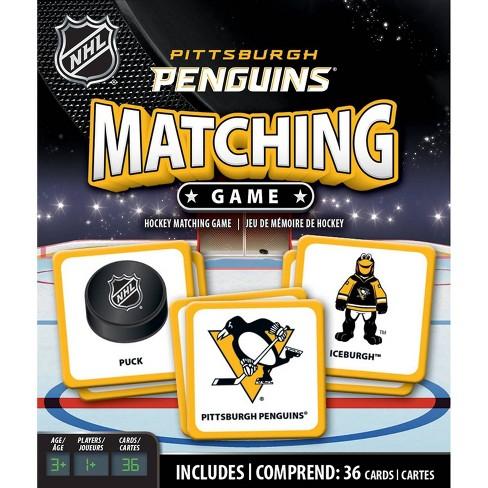 NHL Pittsburgh Penguins Matching Game - image 1 of 3