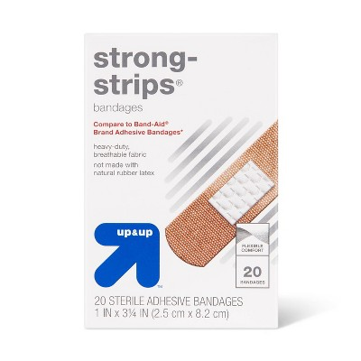 Strong-Strips Flexible Fabric Bandages - up & up™
