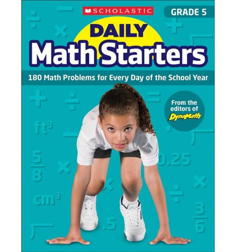 Daily Math Starters, Grade 5 : 180 Math Problems for Every Day of the School Year (Paperback) (Bob - image 1 of 1