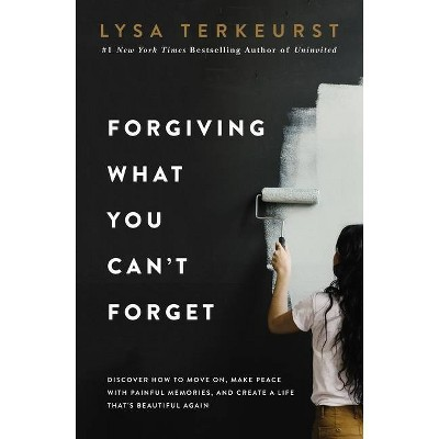 Forgiving What You Can't Forget - by Lysa TerKeurst (Hardcover)