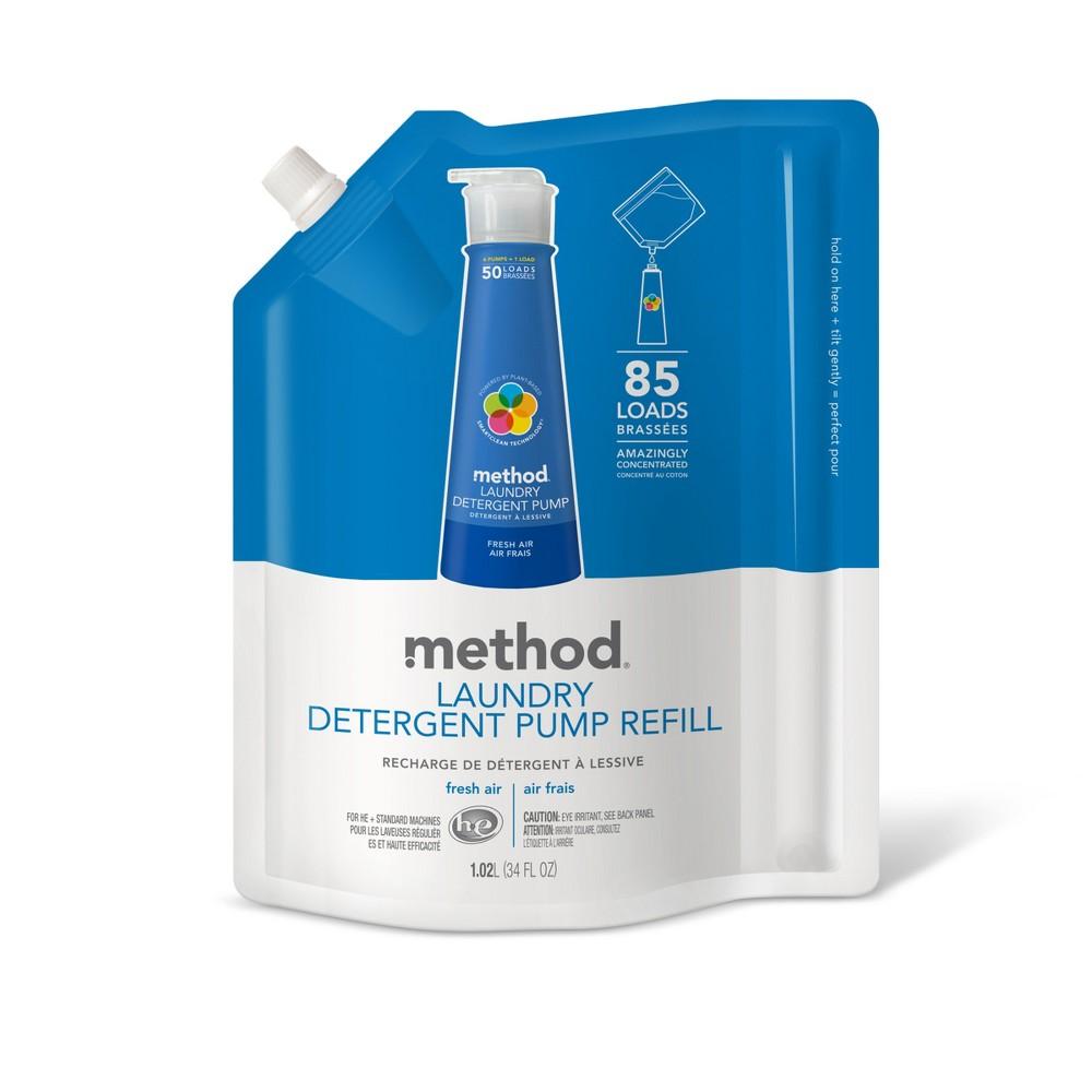 method Fresh Air Laundry Detergent Refill - 34 fl oz