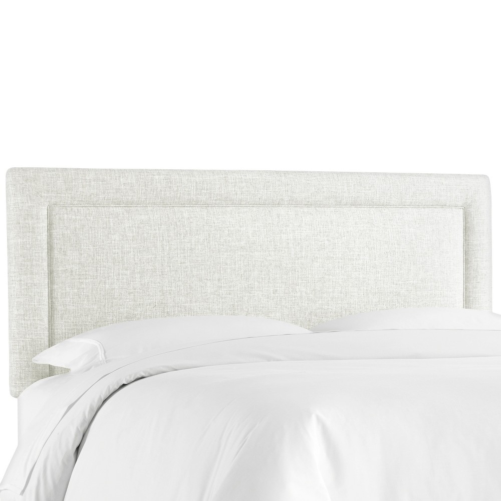 Border Headboard - White - Full - Skyline Furniture Top