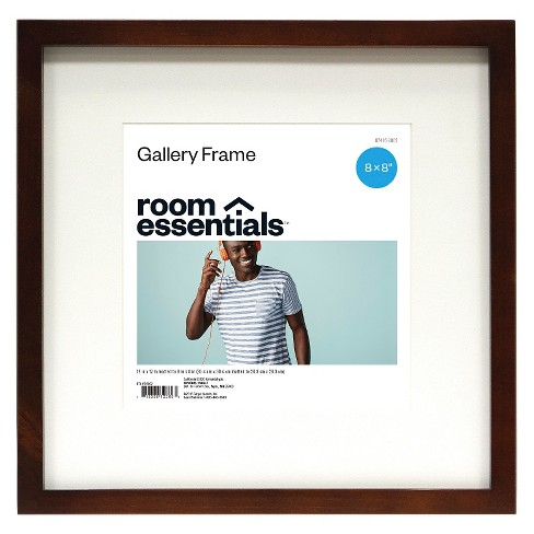 Frame Espresso 12x12 Matted For 8x8 Photo Room Essentials