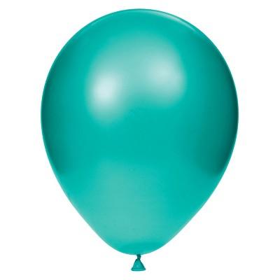 15ct Latex Balloons Teal