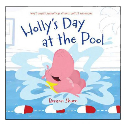 Holly's Day at the Pool -  by Carol  Arrow (Hardcover) - image 1 of 1