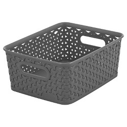 "4"" x 7"" Y-Weave Small Storage Bin - Room Essentials™"