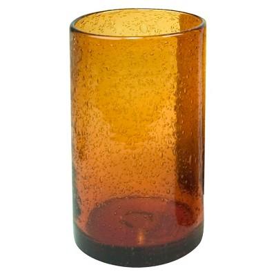 Artland Iris 17oz 4pk Highball Glasses Amber