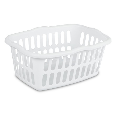 1.5 Bushel Rectangular Laundry Basket White - Room Essentials™ - image 1 of 4