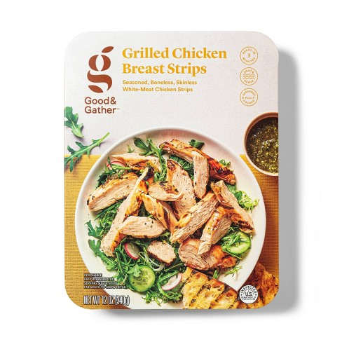 Grilled Chicken Strips - 12oz - Good & Gather™ - image 1 of 3