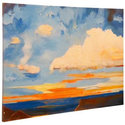 "36"" Oxidized Skies Il Stretched Canvas Decorative Wall Art - StyleCraft - image 1 of 1"