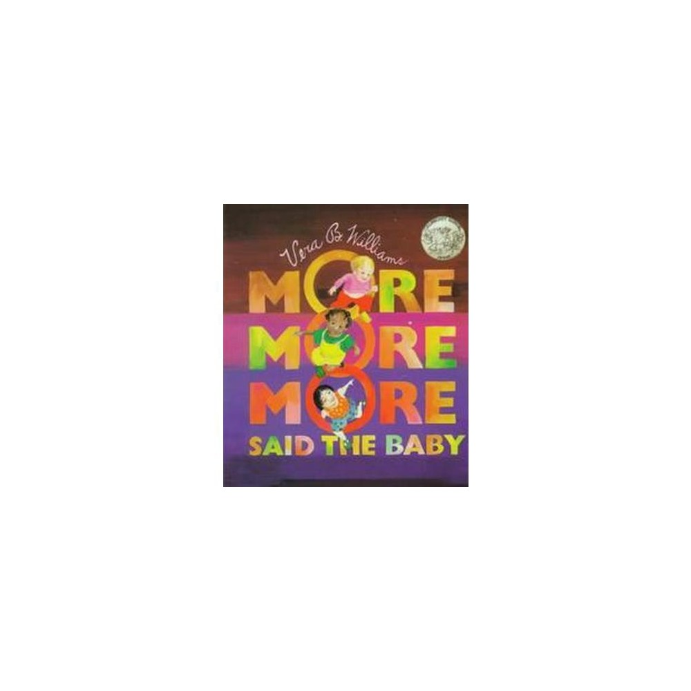 More More More, Said the Baby (Board) by Vera B. Williams