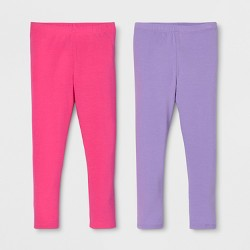 c93db6c6 Toddler Girls' 2pk Leggings Set - Cat & Jack™ Purple/Unicorns : Target