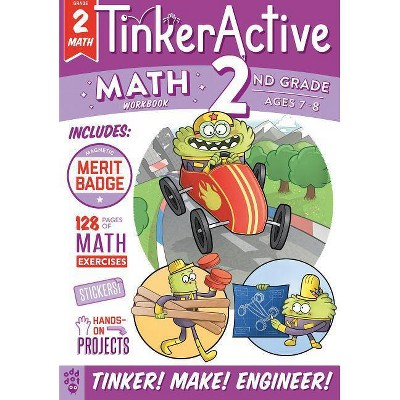 Second Grade - Math - Ages 7-8 -  (Tinkeractive Workbooks) by Enil Sidat (Paperback)