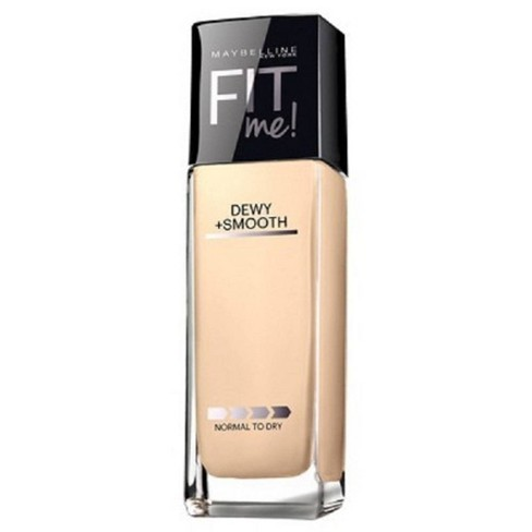 Maybelline Fit Me Dewy + Smooth Foundation - Light Shades - 1 fl oz - image 1 of 2