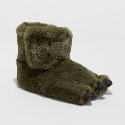 Boys' Fenny Dinosaur Foot Bootie Slippers - Cat & Jack™