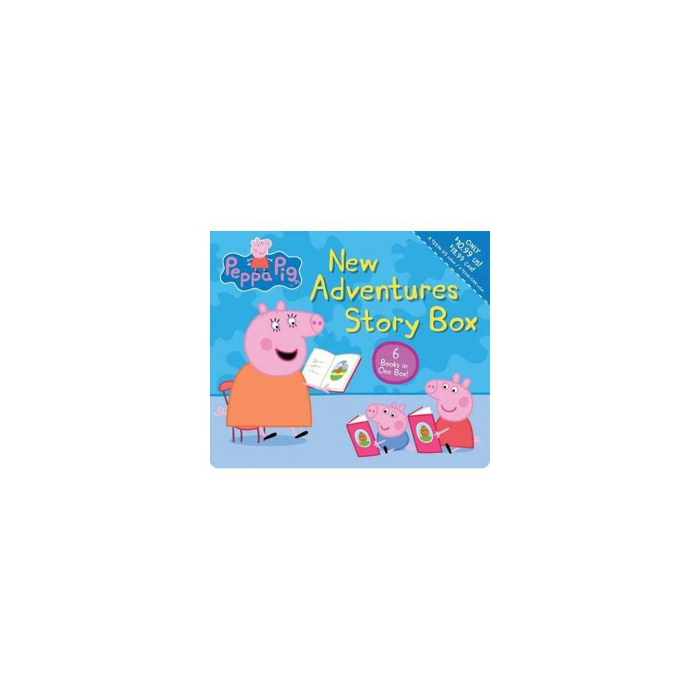 New Adventures Story Box - (Peppa Pig) by Scholastic Inc. (Paperback)