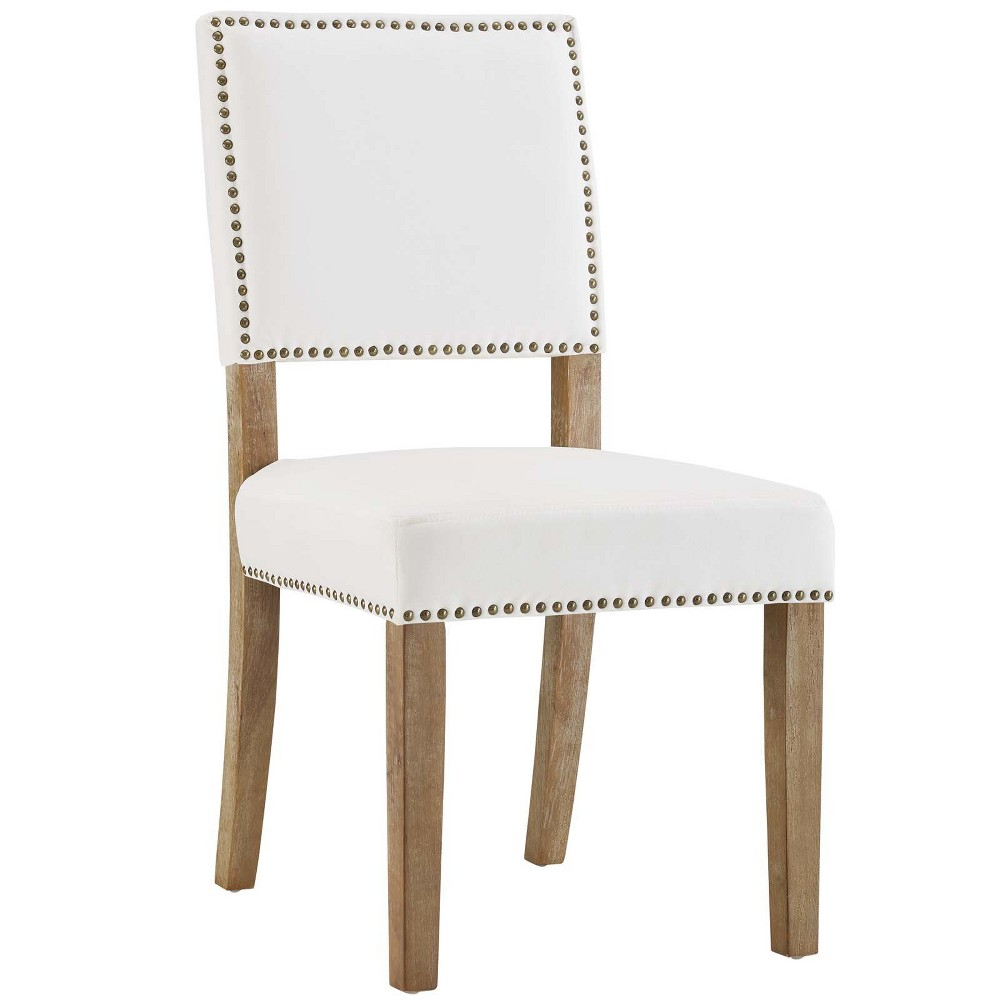 Oblige Wood Dining Chair Ivory - Modway