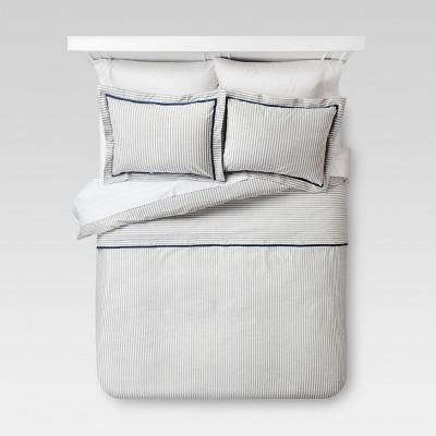Yarn Dye Stripe Duvet Cover Set - Threshold™