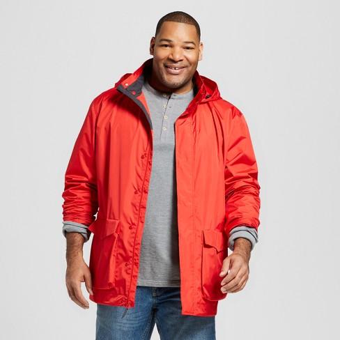 59f5b9ed4 Men's Big & Tall Rain Jacket - Goodfellow & Co™ : Target