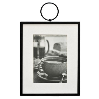 5  x 7  Thin Metal with Ring Frame Black - Threshold™