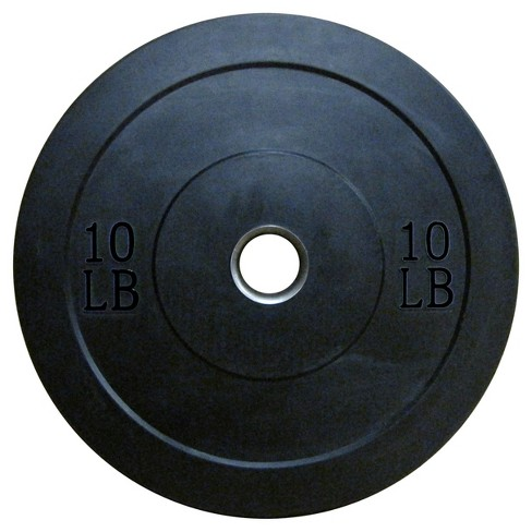 Lifeline® Olympic Rubber Bumper Plate - 10lbs - image 1 of 1