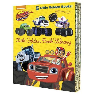 Blaze and the Monster Machines Little Golden Book Library (Blaze and the Monster Machines) - by  Various (Mixed Media Product)
