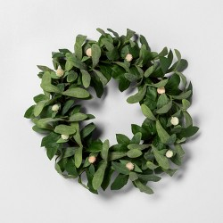 "20"" Faux Globe Thistle Wreath - Hearth & Hand™ with Magnolia"
