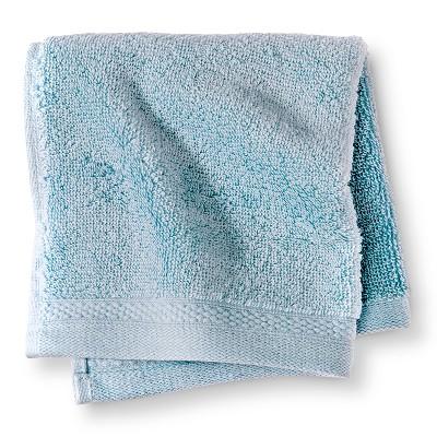 Egyptian Cotton Washcloth - Windswept Blue - Fieldcrest™