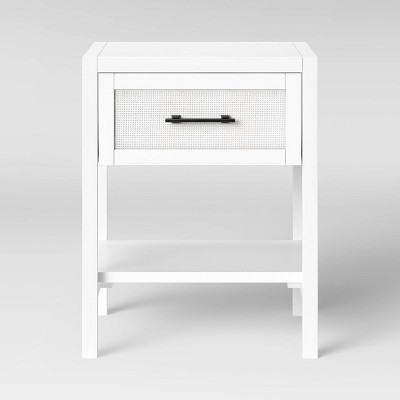 Warwick End Table with Drawer White - Threshold™