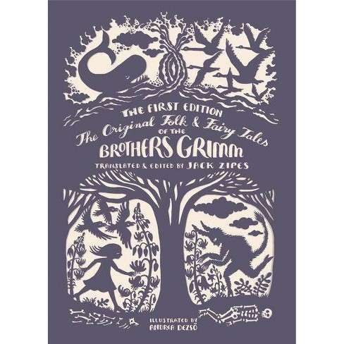 The Original Folk and Fairy Tales of the Brothers Grimm - by  Jacob Grimm & Wilhelm Grimm (Hardcover) - image 1 of 1