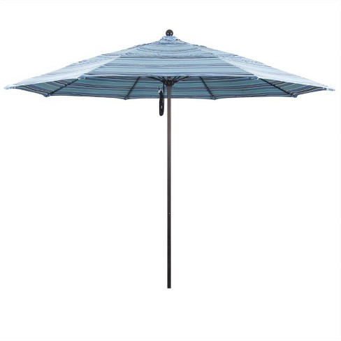 Venture 11' Bronze Market Umbrella in Dolce Oasis - California Umbrella - image 1 of 1