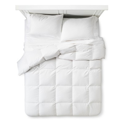 King Warmest Goose Down Comforter White - Fieldcrest™