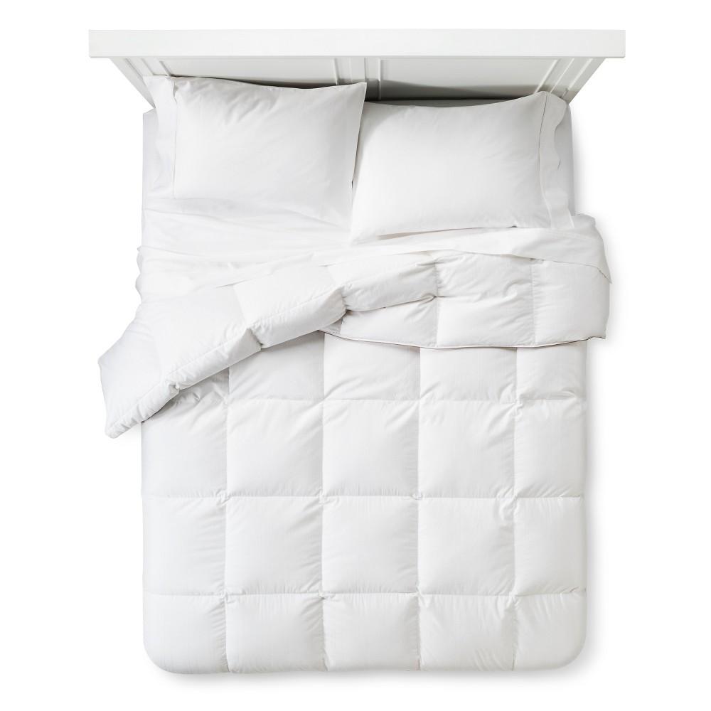 Image of Queen Warmest Goose Down Comforter White - Fieldcrest