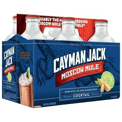 Cayman Jack Moscow Mule Cocktail - 6pk/11.2 fl oz Bottles