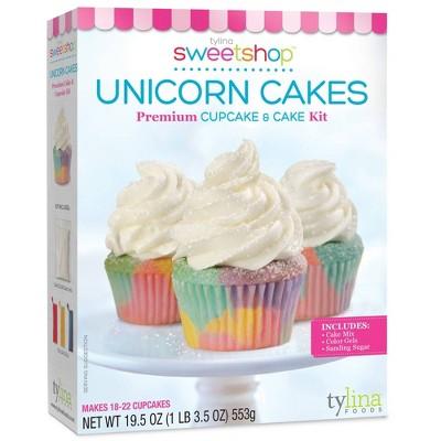 Tylina Sweetshop Unicorn White Cake and Cupcake Mix - 19.5oz