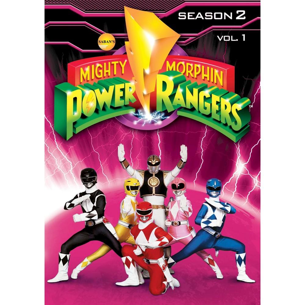 Mighty Morphin Power Rangers Season 2 Vol 1 Dvd