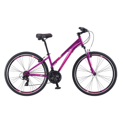 """Schwinn Women's Trailway 700c/28"""" Hybrid Bike - Purple"""