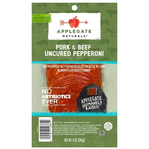 Applegate Natural Uncured Pork & Beef Pepperoni - 5oz - image 1 of 4