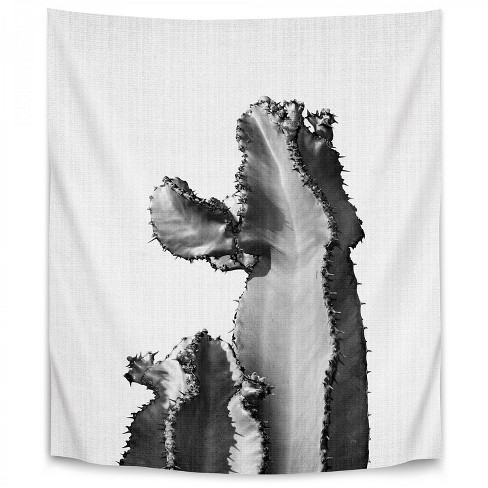Americanflat Cactus On Grey 2 By Lila Lola Wall Tapestry Target