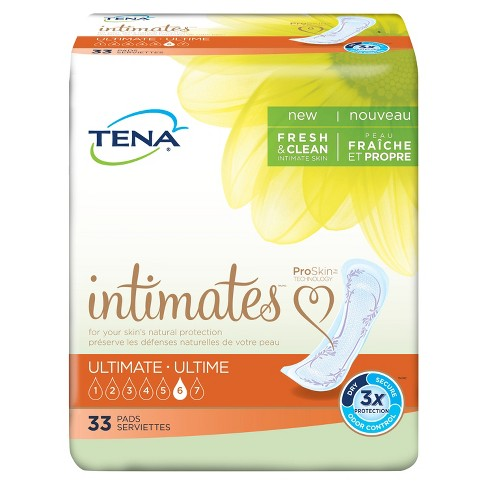 Tena Incontinence Pads for Women - Ultimate - 33ct - image 1 of 5