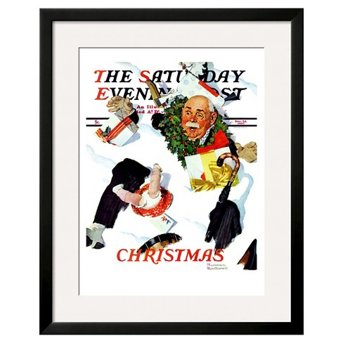 "Art.com ""White Christmas""<BR/> -Framed Print - image 1 of 2"