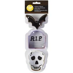 Wilton 3pc Metal Halloween Cookie Cutter Set