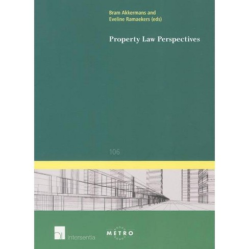 Property Law Perspectives - (IUS Commune Europaeum) (Paperback) - image 1 of 1