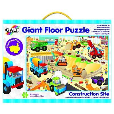 Galt Toys Construction Site Floor Puzzle - 30pc