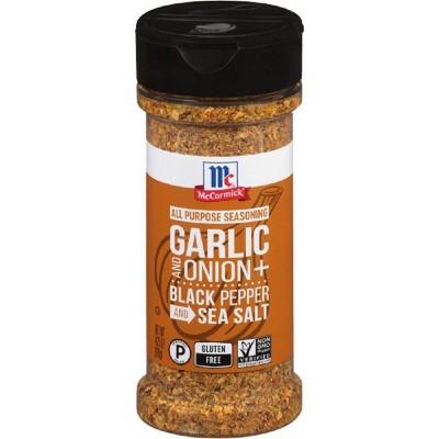 McCormick Garlic, Onion, Black Pepper, Sea Salt All Purpose Seasoning - 4.25oz