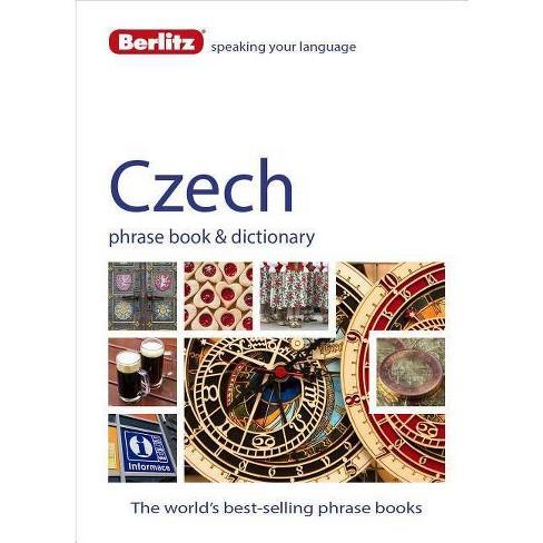Berlitz: Czech Phrase Book & Dictionary - (Berlitz Phrasebooks) 4by  Berlitz Publishing (Paperback) - image 1 of 1