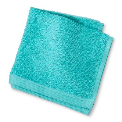 Solid Washcloth Turquoise - Room Essentials™