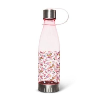 Hello Kitty 20oz Plastic Tritan Water Bottle - Silver Buffalo